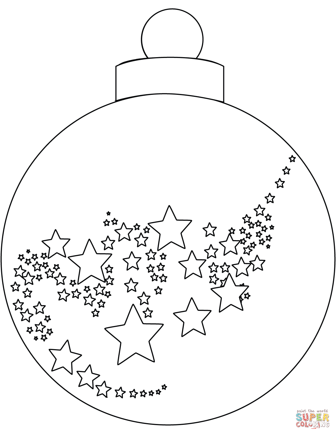 Christmas Ornament Coloring Page | Free Printable Coloring Pages - Free Printable Ornaments To Color