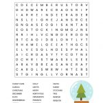 Christmas Word Search Free Printable For Kids Or Adults   Free Printable Christmas Word Search