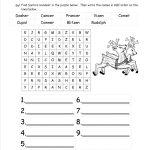 Christmas Worksheets And Printouts   Christmas Fun Worksheets Printable Free