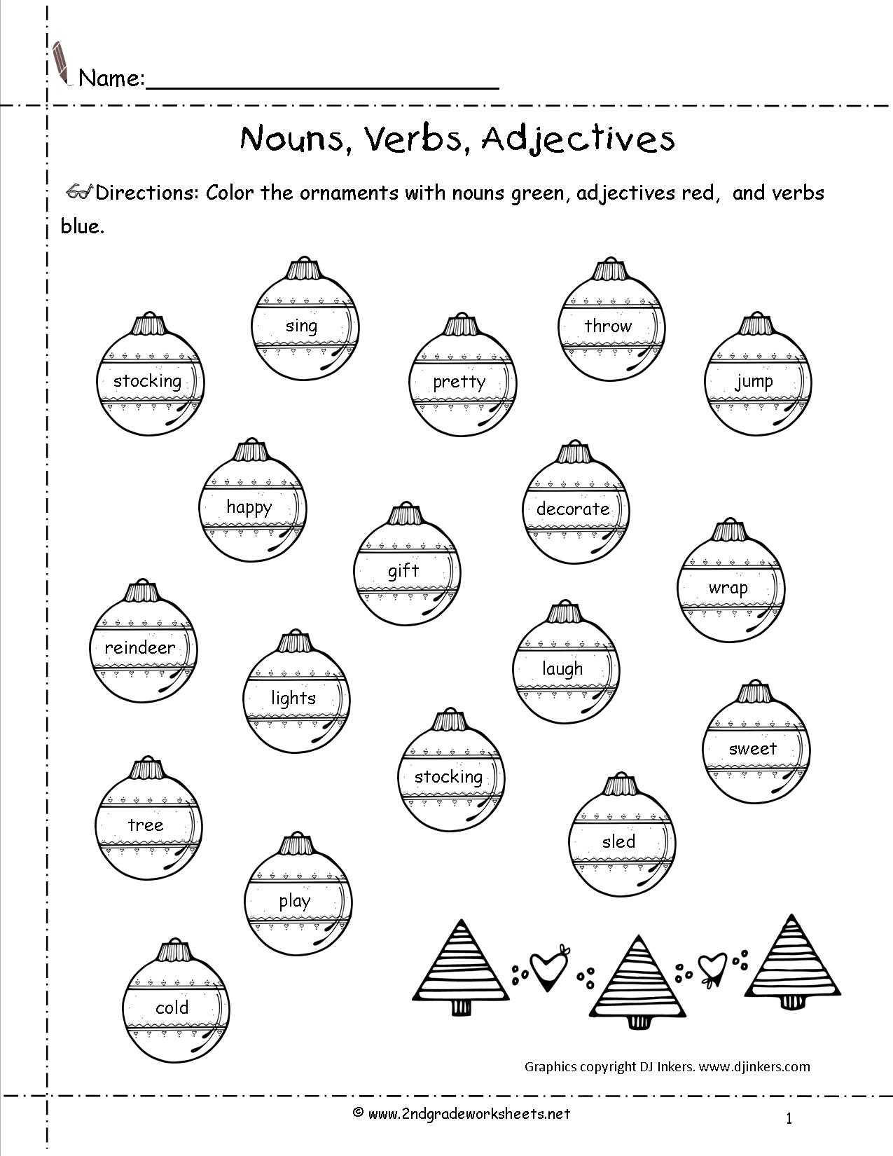 Christmas Worksheets And Printouts - Free Printable Christmas Worksheets