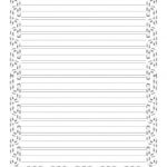 Christmas Writing Paper With Decorative Borders   Free Printable Writing Paper With Borders