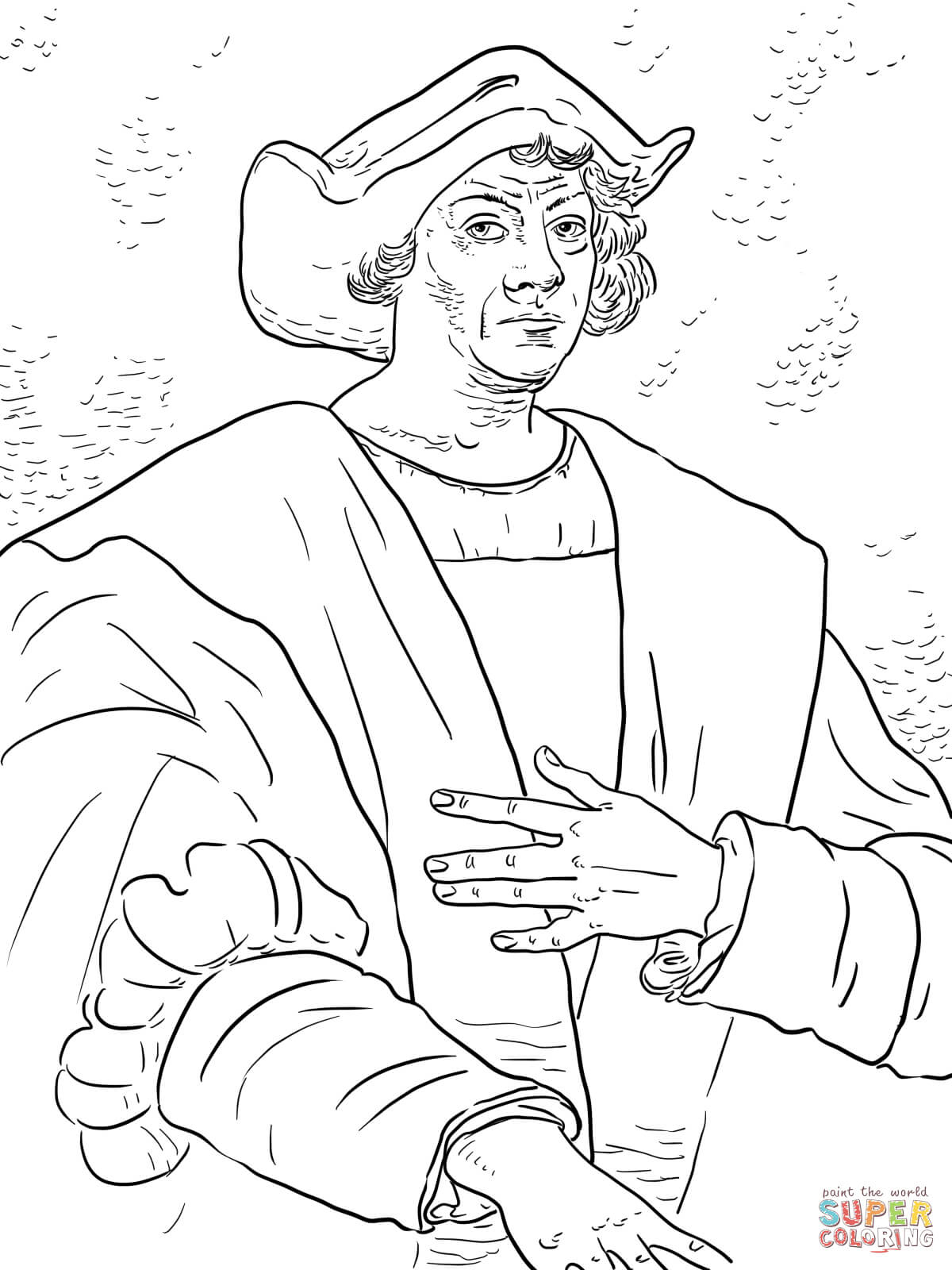 Christopher Columbus Coloring Page | Free Printable Coloring Pages - Free Printable Christopher Columbus Coloring Pages