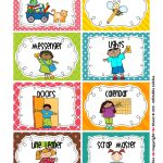 Cleaning Classroom Clipart | Classroom Job Chart | Pinterest   Preschool Classroom Helper Labels Free Printable