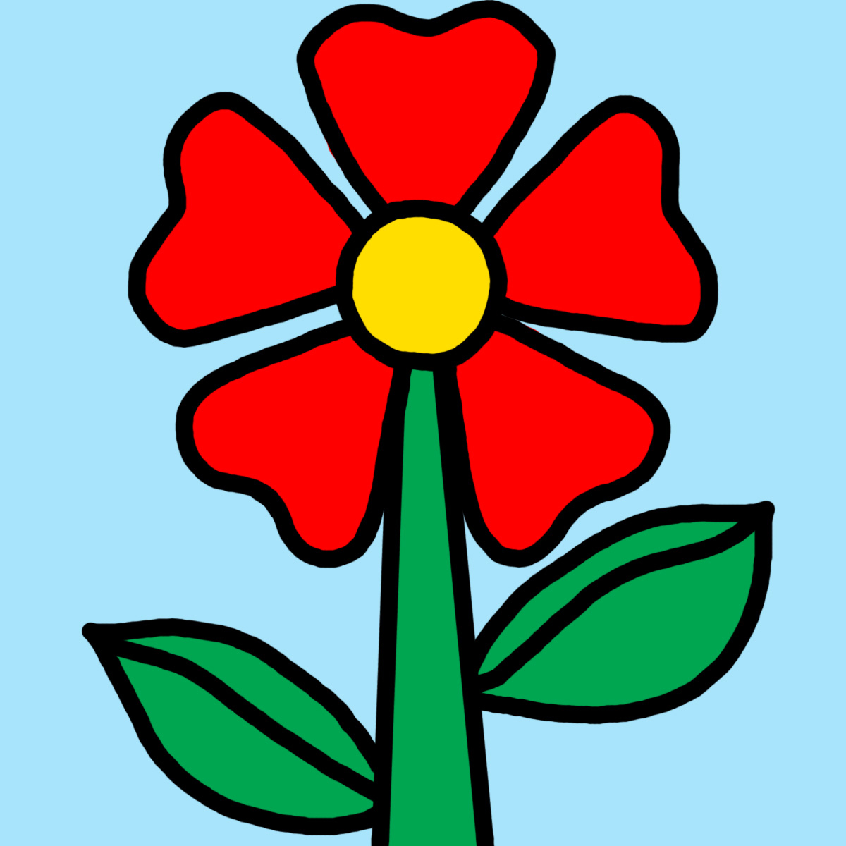 Clip Art Of Flowers Clipart Collection - Free Printable Clip Art Flowers