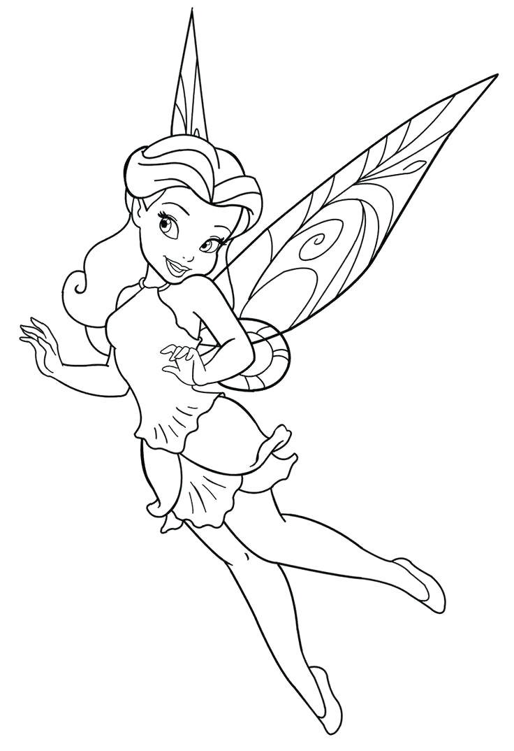 Collection Of Free Printable Fairy Coloring Pages High Quality Free - Free Printable Fairy Coloring Pictures