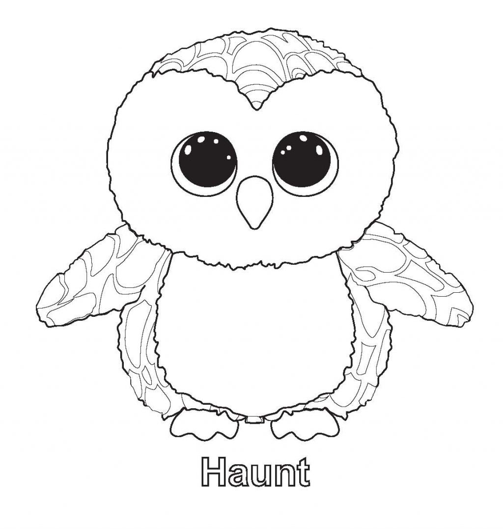 Coloring Pages ~ Beanie Boo Coloring Pages Of Dougie Dog Beanie Boo - Free Printable Beanie Boo Coloring Pages