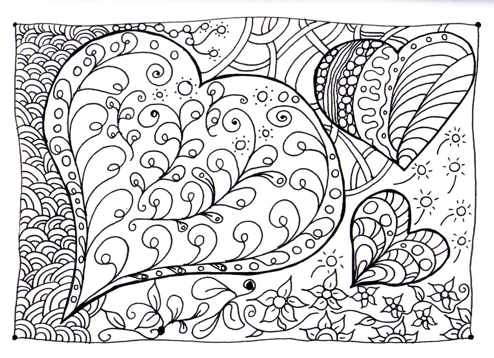 Coloring Pages ~ Coloring Pages Doodle Free Printable Google Page - Free Printable Doodle Patterns