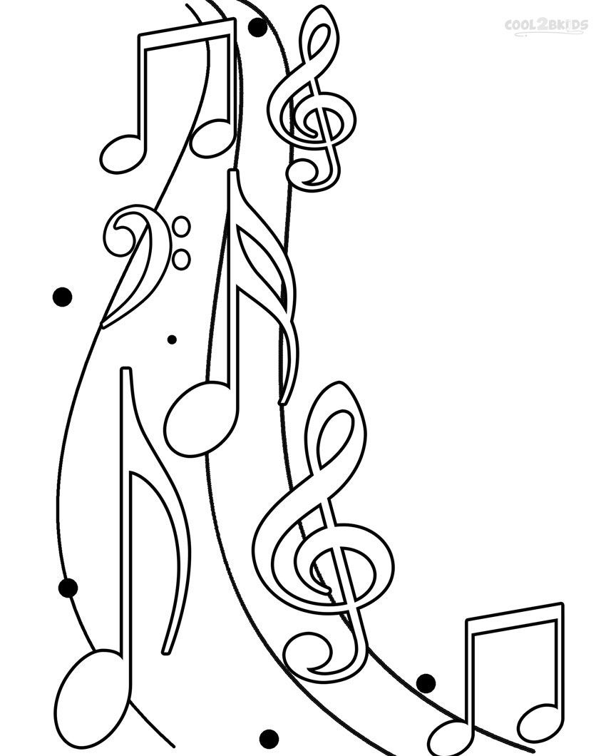 Coloring Pages : Coloring Pages Music Notes Printable For Kids Free - Free Printable Pictures Of Music Notes