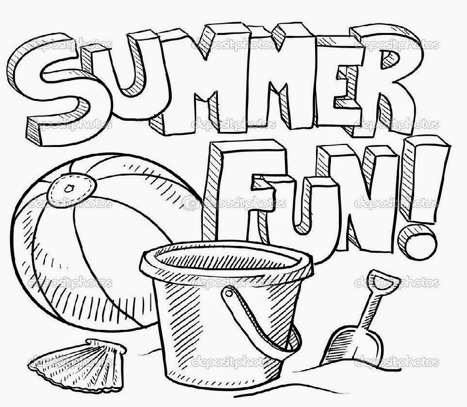Coloring Pages ~ Coloring Pages Printable For The Summer Free Sheets - Free Printable Summer Coloring Pages