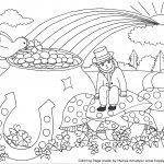 Coloring Pages : Coloring Pagesree Sheetsor Kindergarten St Patricks   Free Printable Saint Patrick Coloring Pages