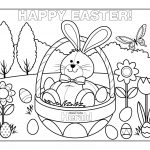 Coloring Pages Easter Printable Best Of Free Printable Easter   Free Printable Easter Coloring Pictures