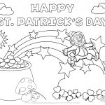Coloring Pages : Free Coloring Sheets For Kids St Patricks Day   Free Printable Saint Patrick Coloring Pages