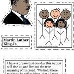 Coloring Pages ~ Free Printable Coloringes Of Martin Luther King Jr   Free Printable Martin Luther King Jr Worksheets For Kindergarten