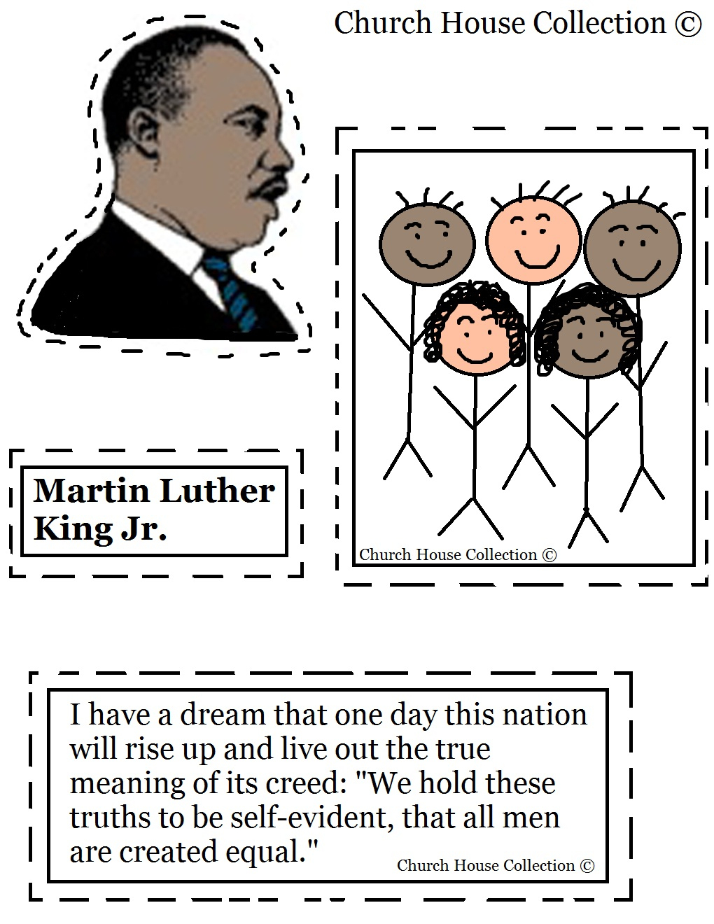 Coloring Pages ~ Free Printable Coloringes Of Martin Luther King Jr - Free Printable Martin Luther King Jr Worksheets For Kindergarten