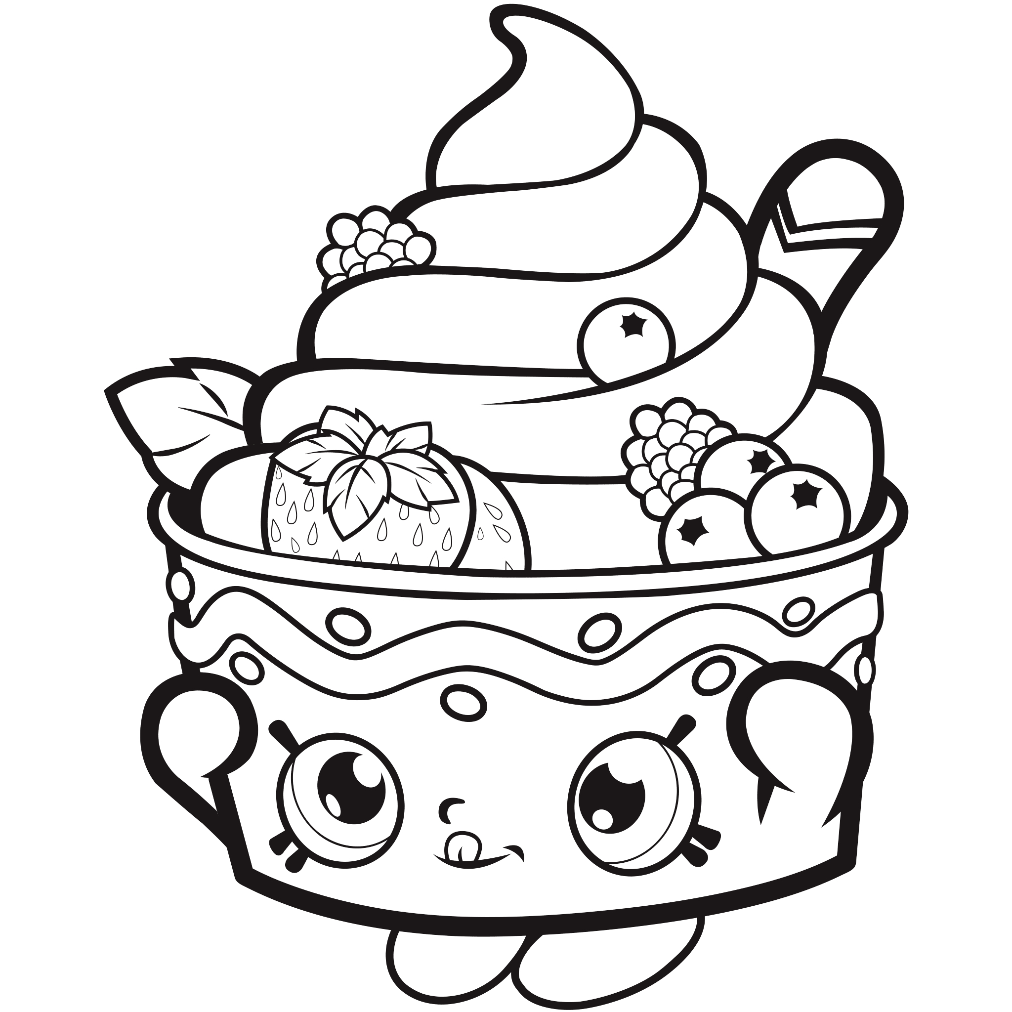 Coloring Pages : Free Shopkinsoloring Pages For Kids Picture Ideas - Shopkins Coloring Pages Free Printable