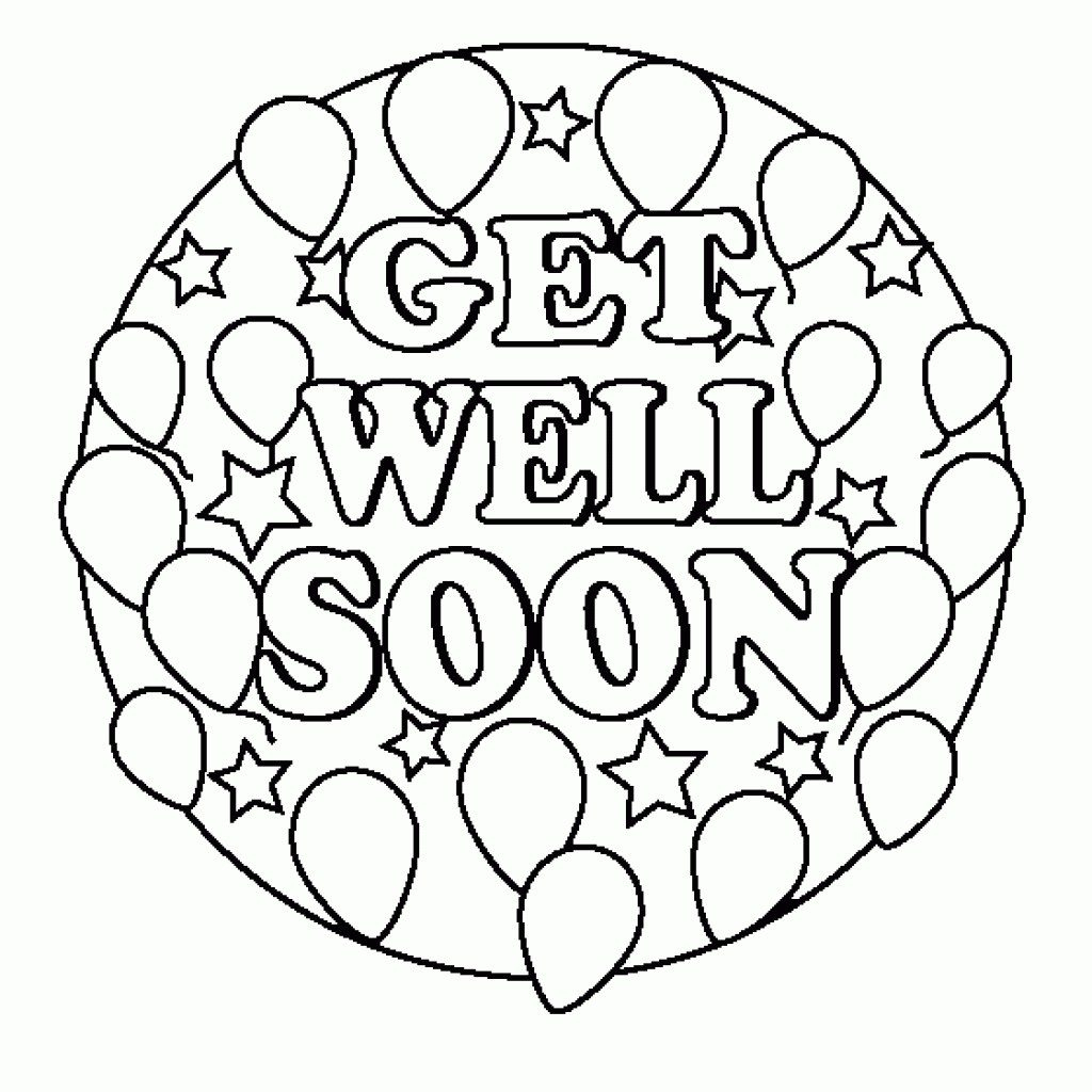 Coloring Pages ~ Get Well Soon Printable Coloring Pages - Free Printable Get Well Cards To Color