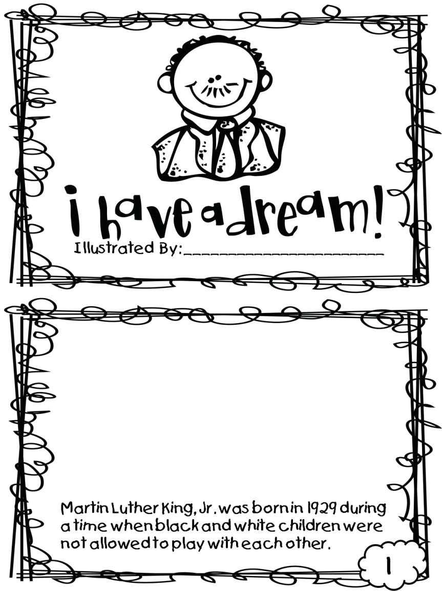 Coloring Pages : Martin Luther King Jr Coloring Pages Printable Free - Free Printable Martin Luther King Jr Worksheets For Kindergarten