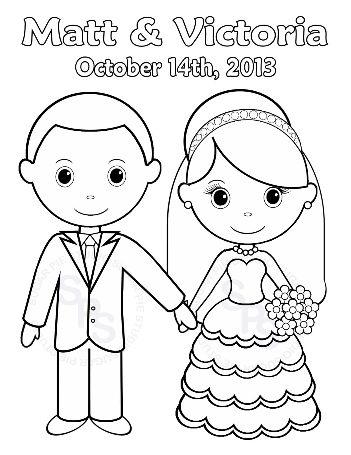 Coloring Pages ~ Printable Inspirationalg Pages Best Of Free - Free Printable Personalized Wedding Coloring Book