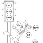 Coloring: Stop Light Coloring Page 60 Cool Printable Sign Free To   Free Printable Stop Sign To Color
