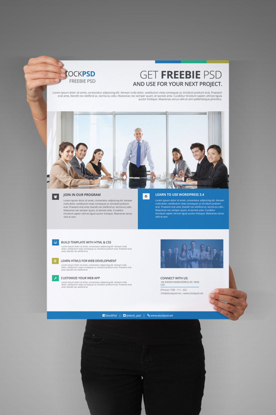 Corporate Flyer - Free Psd Flyer Template - Free Psd Flyer Templates - Business Flyer Templates Free Printable