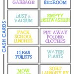 Create A Chore Chart That Works | Free Chore Charts For Kids   Free Printable Chore Chart Ideas