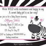 Creative Free Printable Animal Print Birthday Invitations   Free Printable Animal Print Birthday Invitations