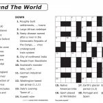 Crossword Puzzle Printable Large Print Crosswords ~ Themarketonholly   Free Printable Word Search Puzzles Adults Large Print