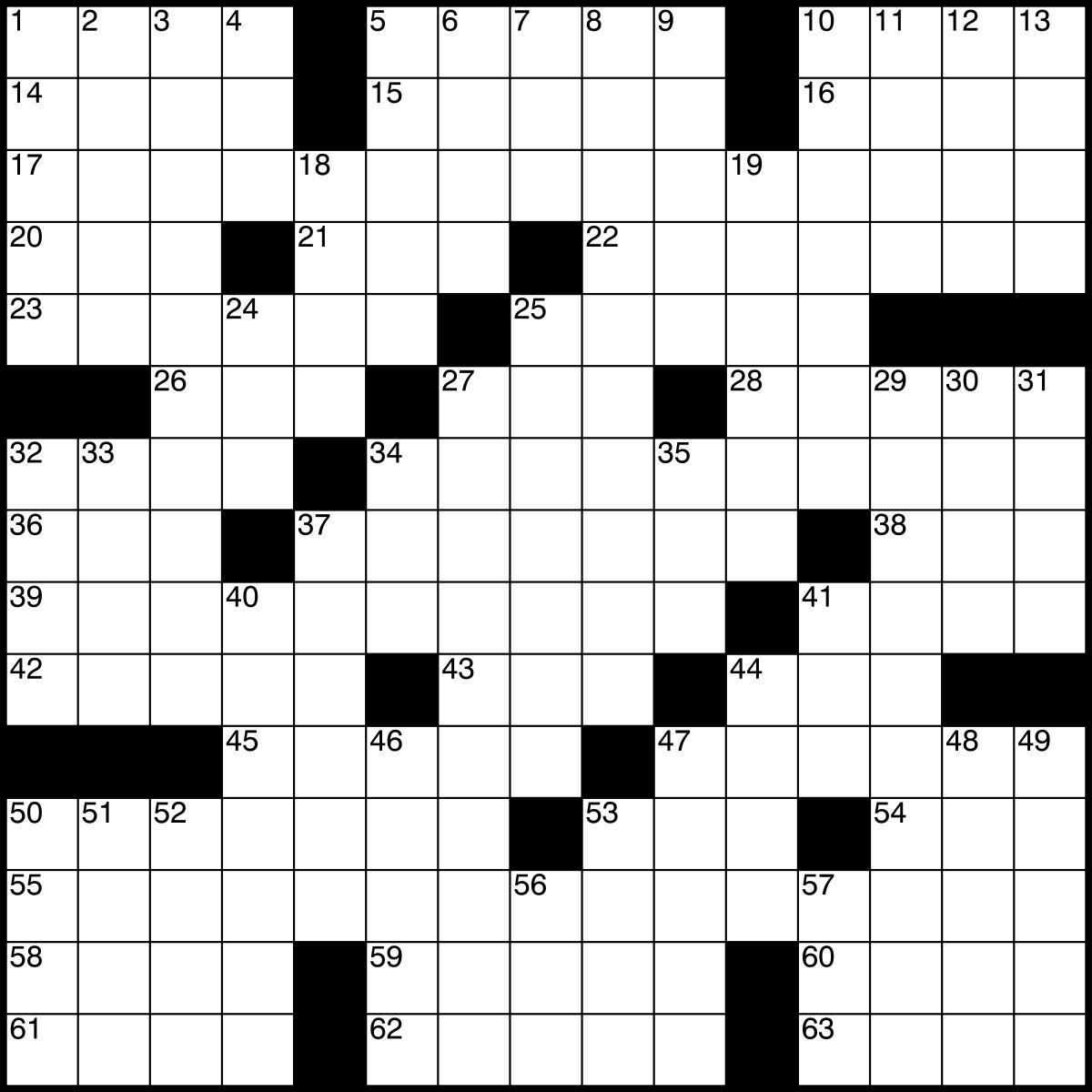Crossword - Wikipedia - Free Printable Anagram Magic Square Puzzles