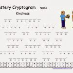 Cryptograms! | Cjrl: Kids Zone With Regard To Free Printable   Free Printable Cryptoquip Puzzles