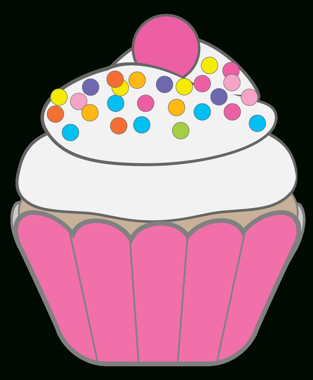 Cupcakes / Muffins | Cupcakes | Birthday Cake Clip Art, Cupcake - Free Printable Cupcake Clipart