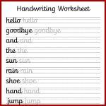 Cursive Handwriting Worksheets – Free Printable! ⋆ Mama Geek   Free Printable Writing Sheets