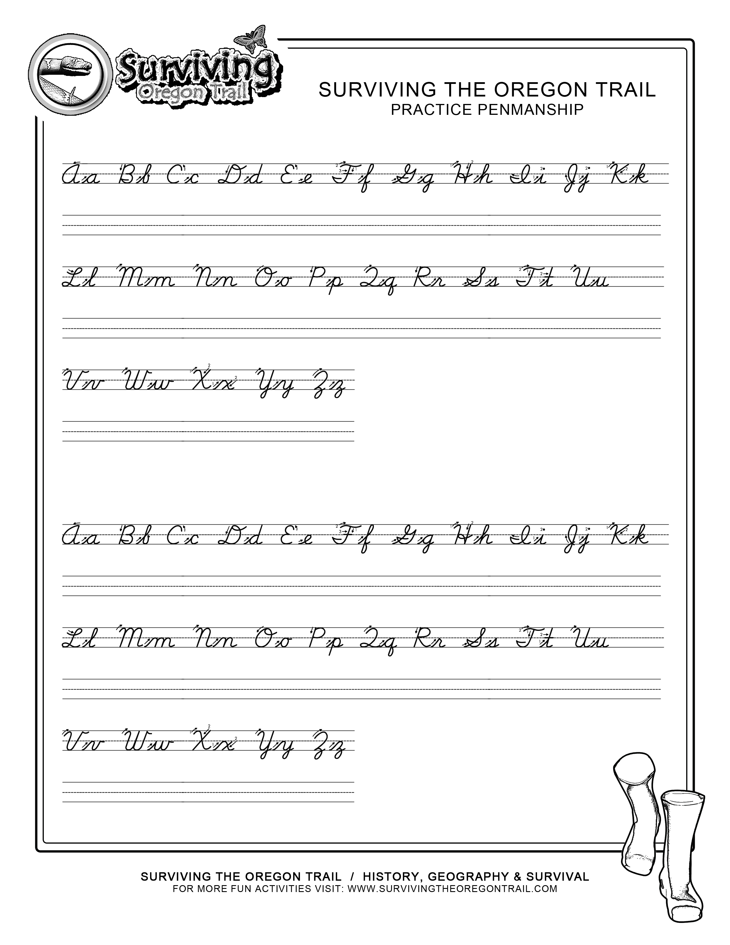 Cursive Writing Worksheets For 3Rd Grade - Term Paper Example - 1256 - Free Printable Writing Sheets
