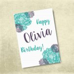 Customized Birthday Cards Free Printable | Birthdaybuzz   Customized Birthday Cards Free Printable