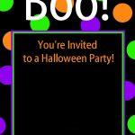 Cute Free Printable Halloween Invitations – Fun Squared   Halloween Invitations Free Printable Black And White