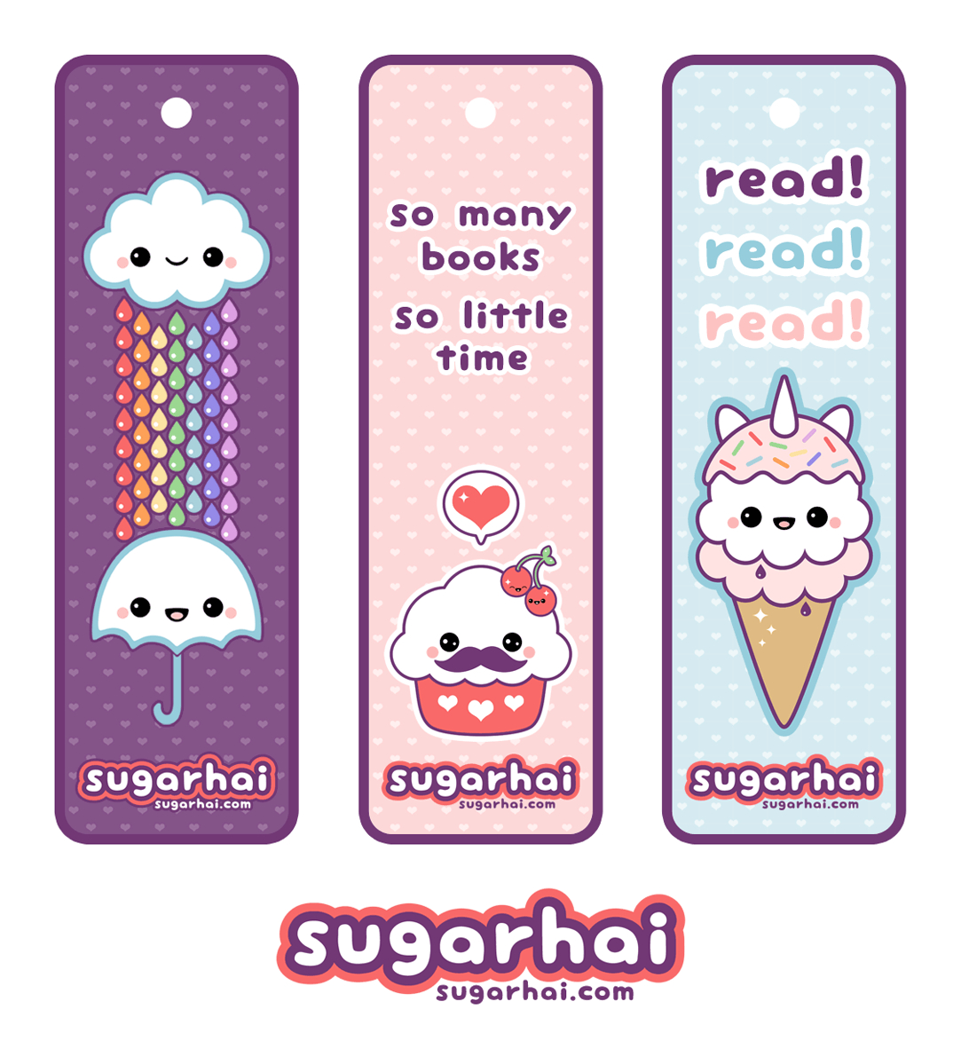 Cute Printable Bookmarks | I Want | Pinterest | Cool Bookmarks, Cute - Anime Bookmarks Printable For Free