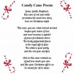 Cute Printable Candy Cane Poem Along With A Free Printable Coloring   Free Printable Candy Cane Poem