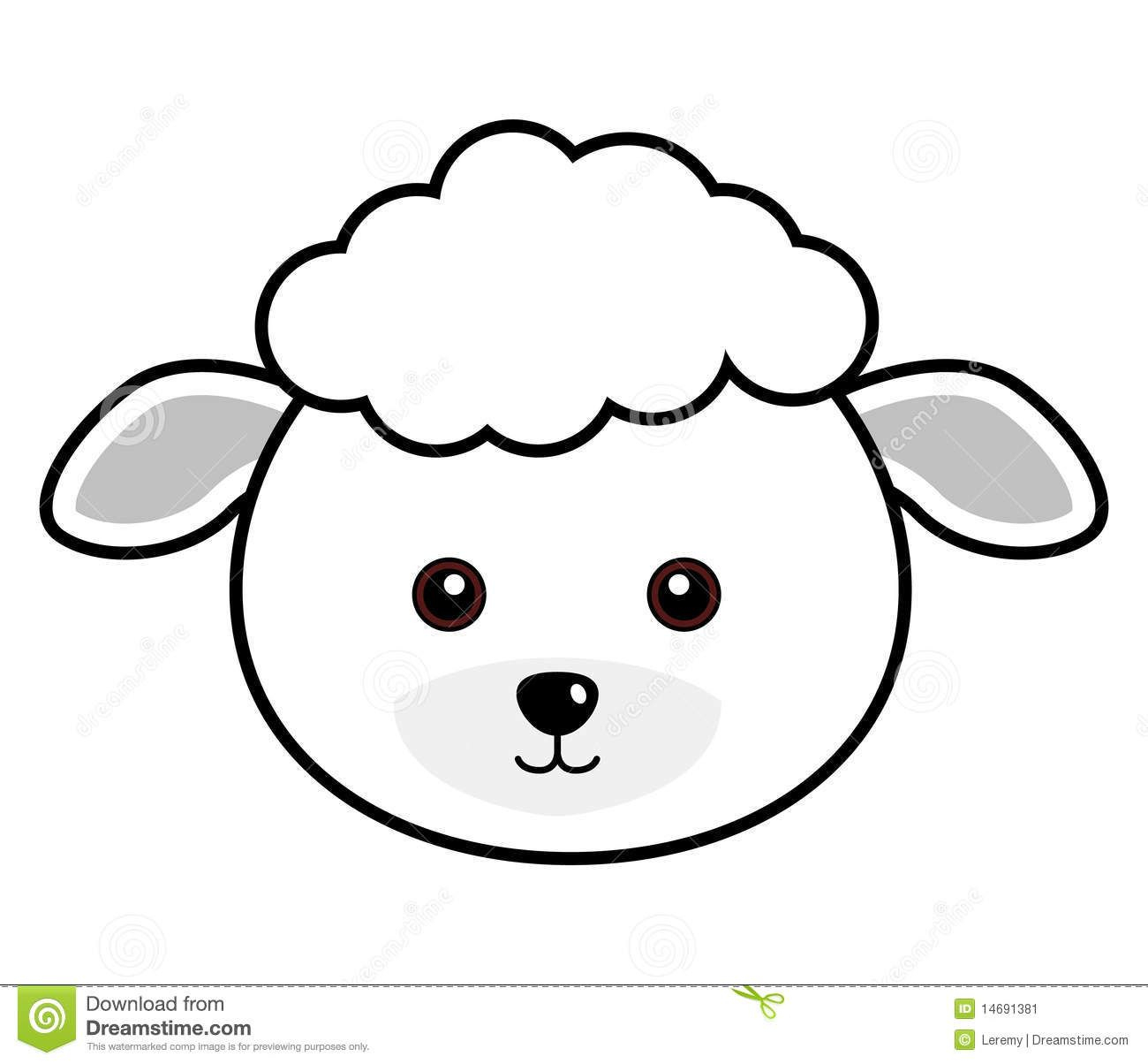 Cute Sheep Face | Plaasdiere | Pinterest | Sheep Face, Face Template - Free Printable Sheep Mask