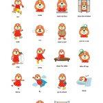 Debbie Sensei   Free Esl Verbs Flashcards   Free Printable Spanish Verb Flashcards