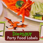 Dinosaur Party Food Labels | Free Printable   Free Printable Dinosaur Labels