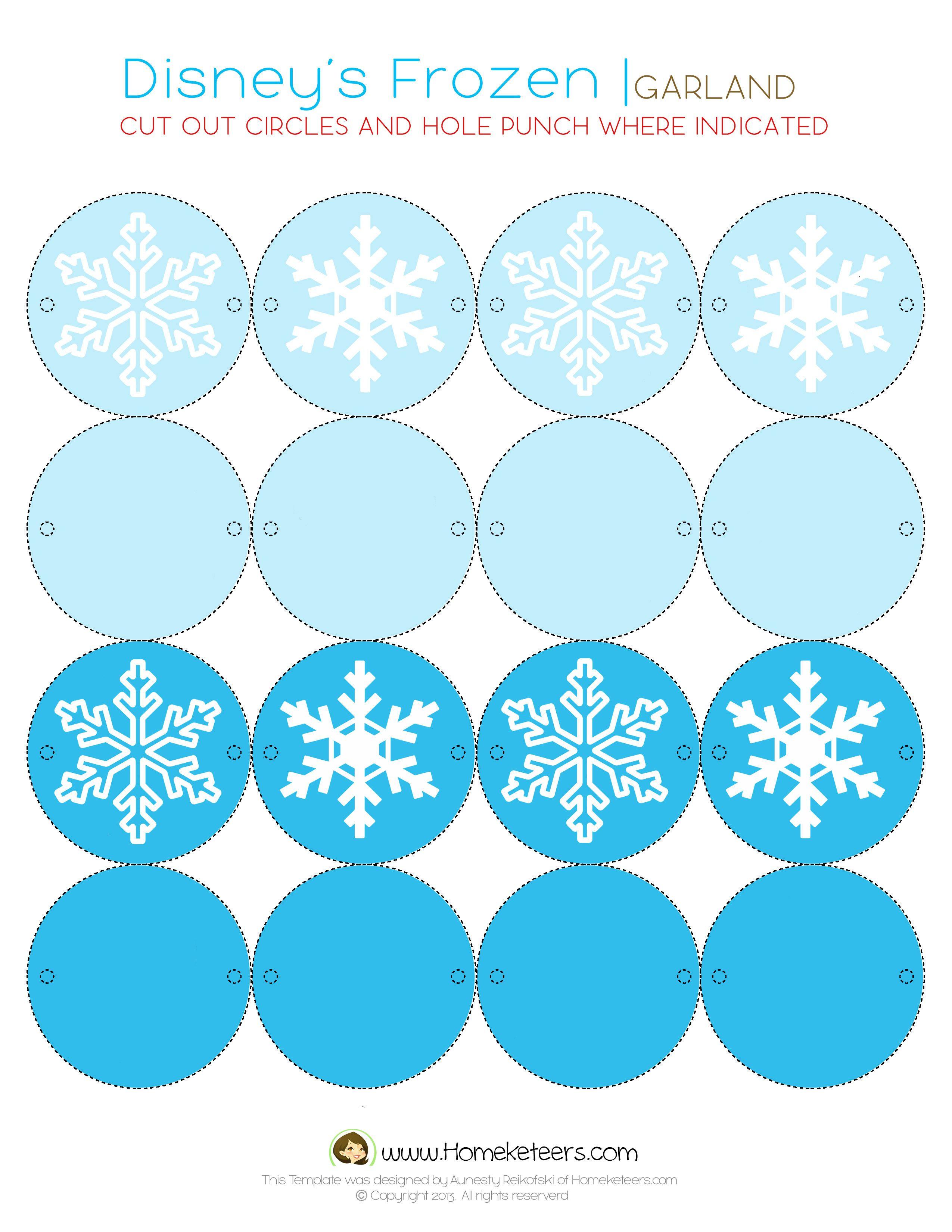 Disney's Frozen Party Printables ~ Free | Celebrate : Frozen Party - Frozen Birthday Banner Printable Free