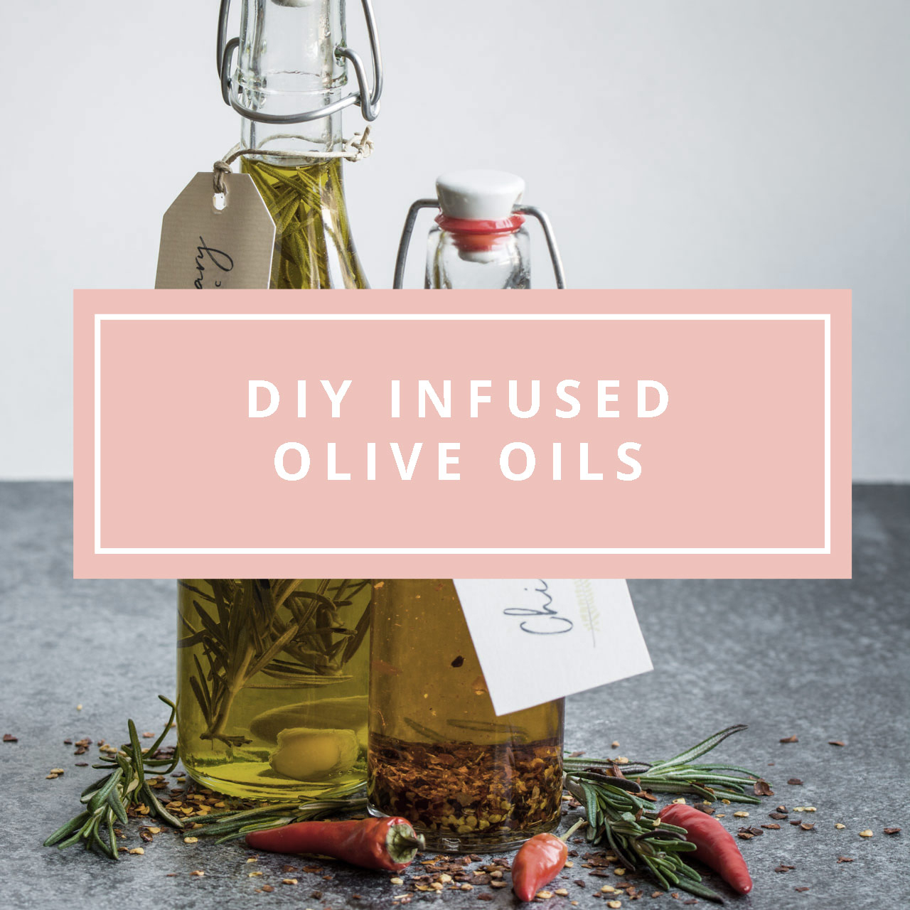 Diy Infused Oils (With Free Printable Gift Labels!) | Lauren Caris Cooks - Free Printable Olive Oil Labels