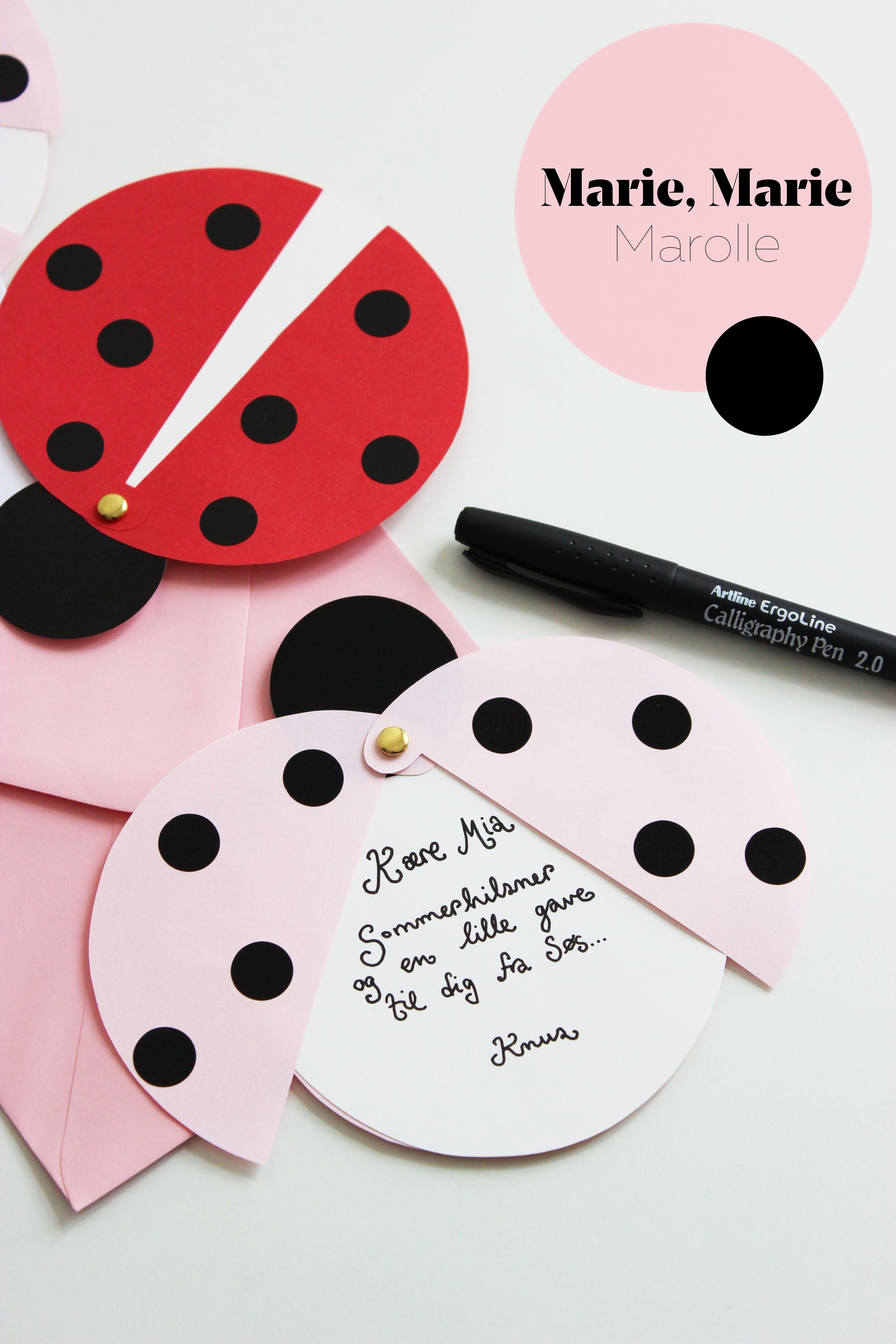 Diy: Ladybug Party Invitations (Free Printable Template)   Diy - Free Printable Ladybug Invitations