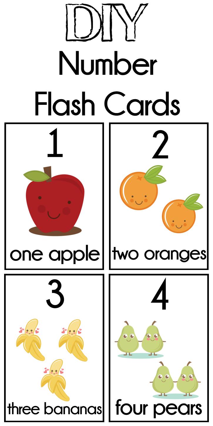 Diy Number Flash Cards Free Printable - Extreme Couponing Mom - Free Printable Number Cards