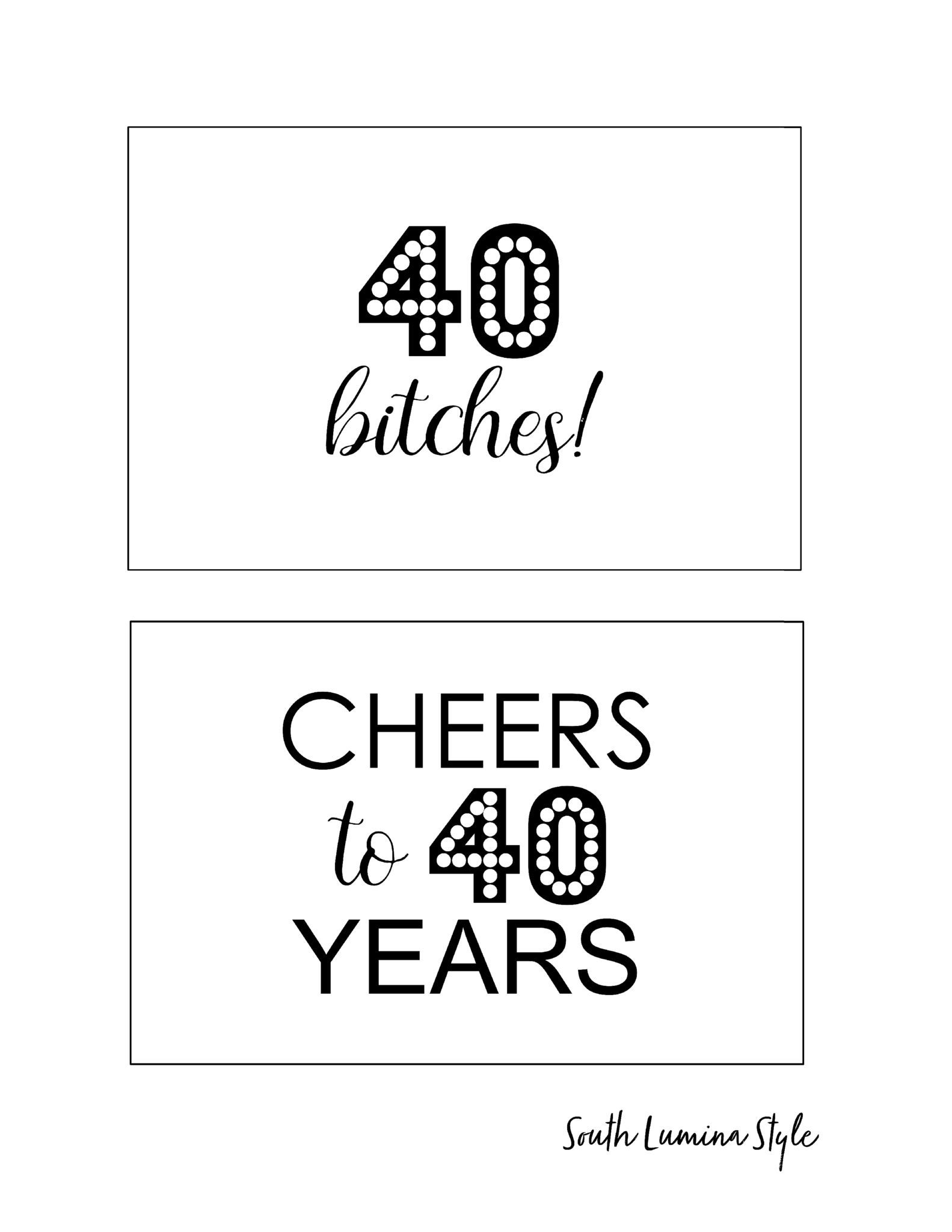 Diy Printable Adult Birthday Party Signs | Party Time | Pinterest - Free Printable Party Signs