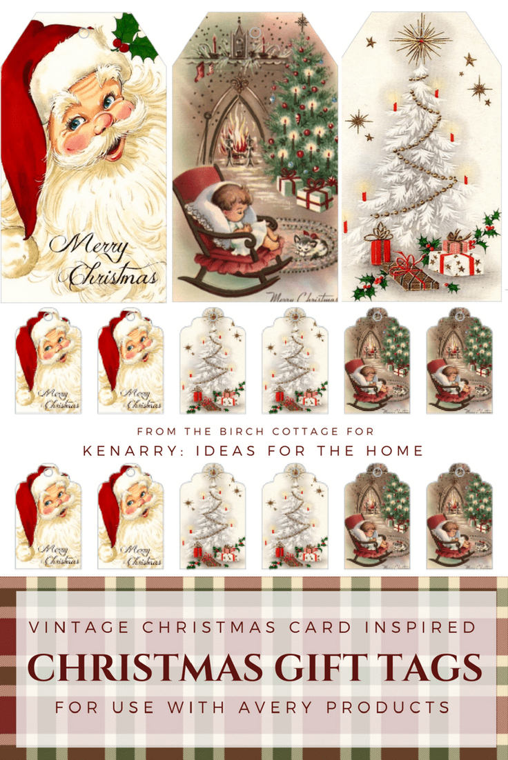 Download Free Printable Vintage Christmas Gift Tags For Holiday - Christmas Cards Download Free Printable