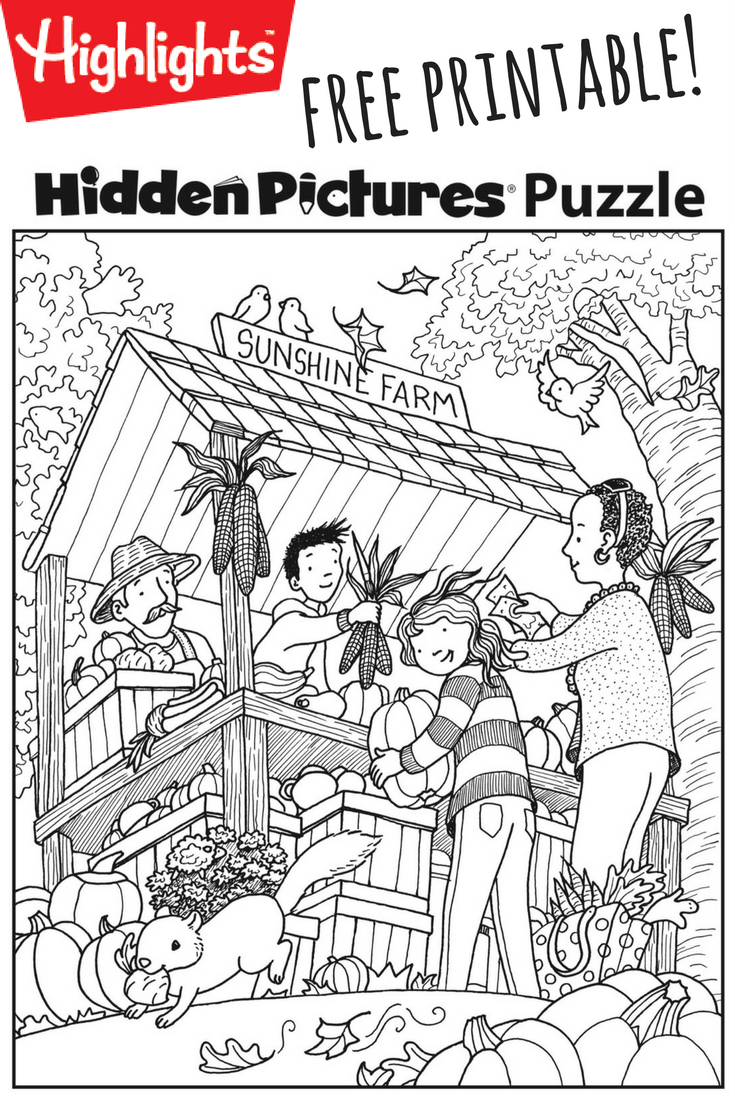 Download This Festive Fall Free Printable Hidden Pictures Puzzle To - Free Printable Fall Hidden Pictures