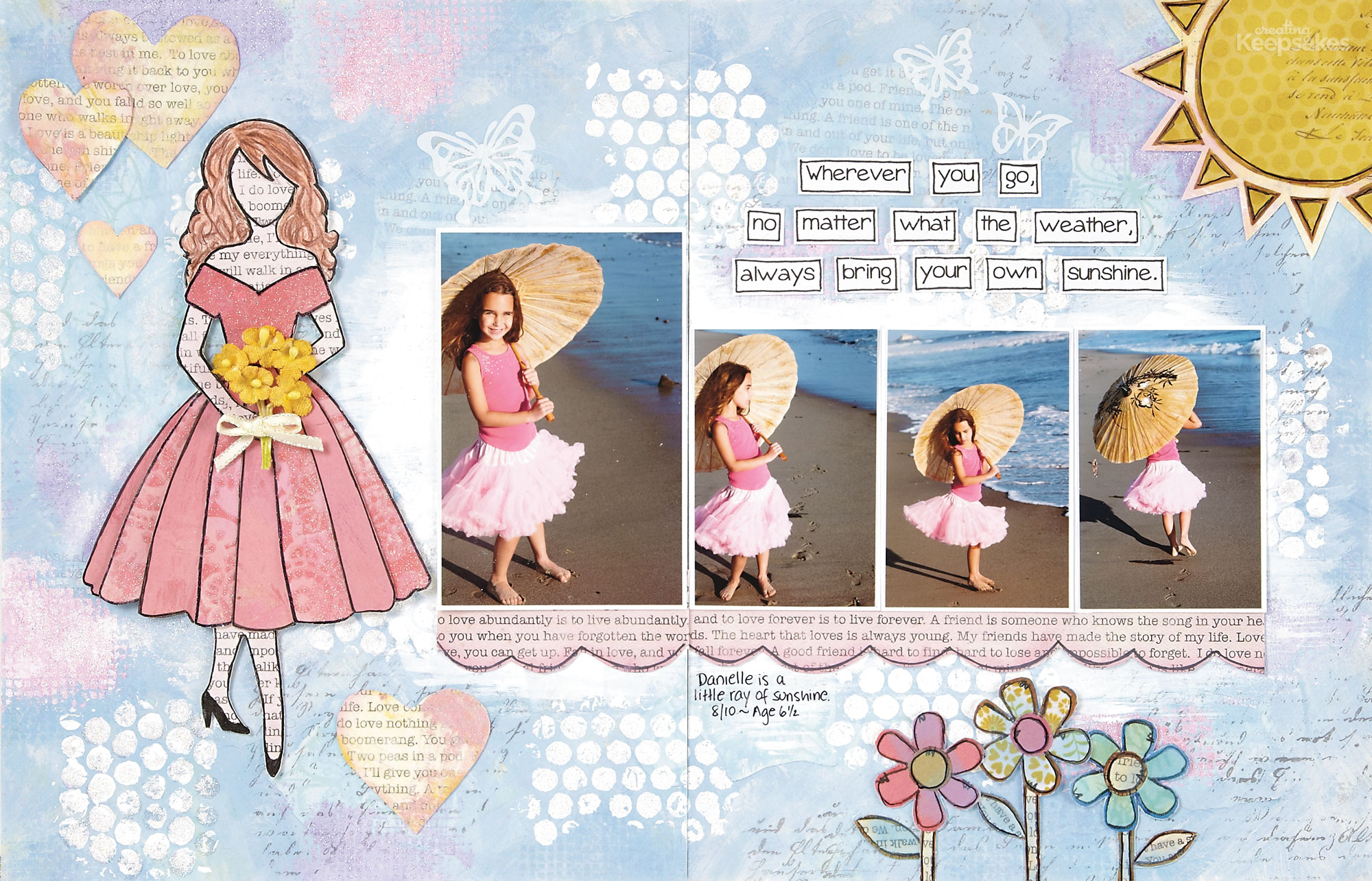 Download This Free Doll Collage Template | Mixed Media, Vol. 2 - Free Printable Photo Collage Template