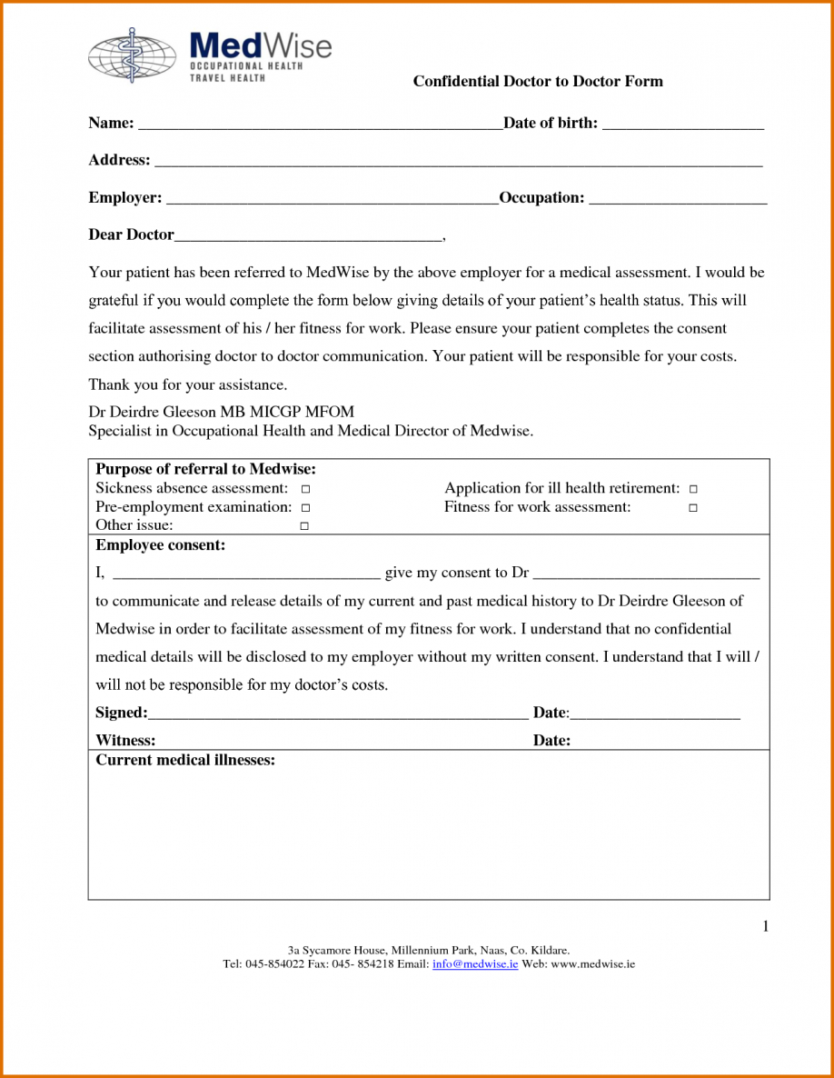 Drs Excuse For Work Doctors Online Printable Doctor Excuses Free Pdf - Free Printable Doctors Excuse
