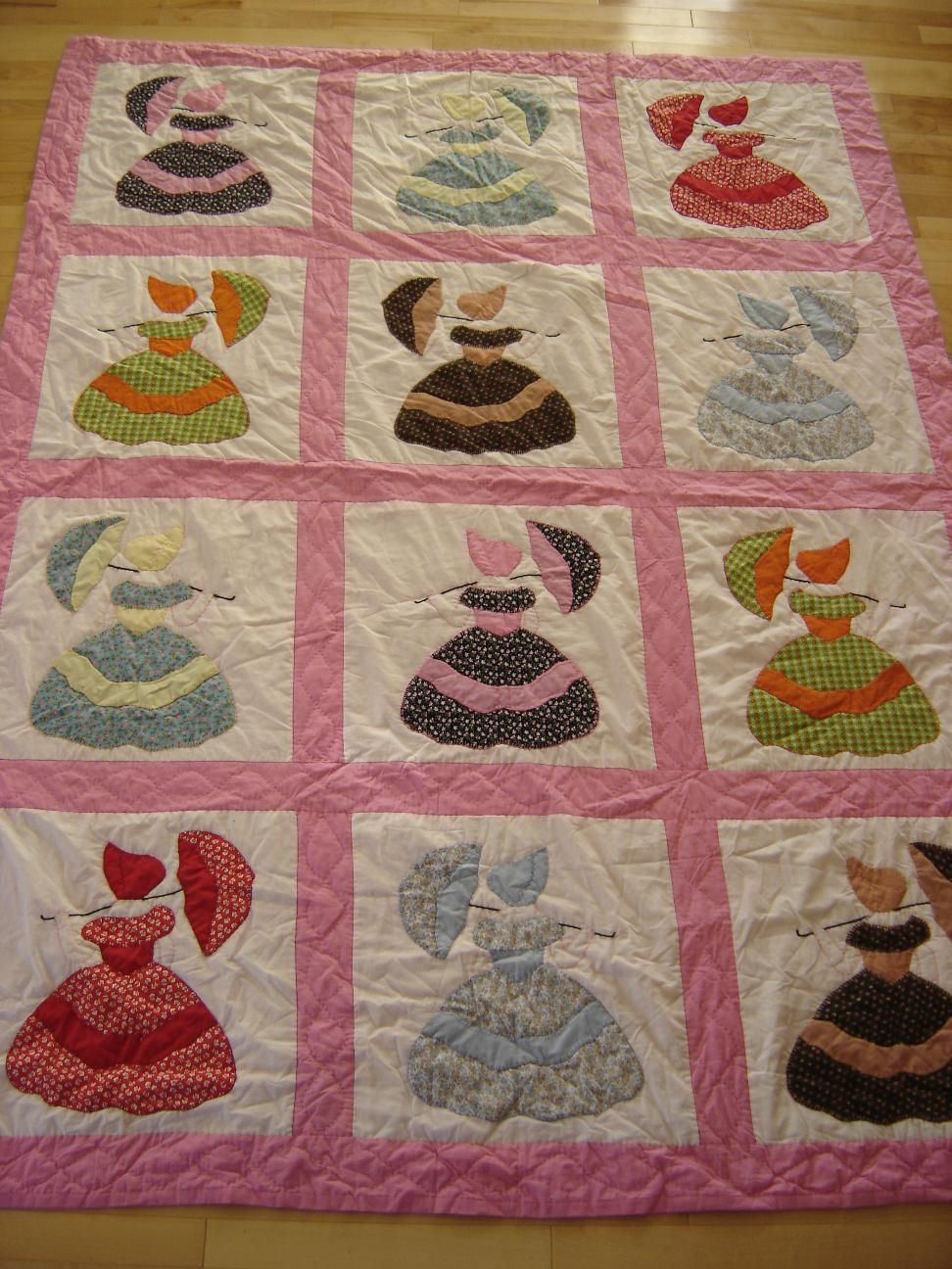 Dutch Girl Quilt | Q Sunbonnet, Girls, Fashion Quilts | Pinterest - Free Printable Dutch Girl Quilt Pattern