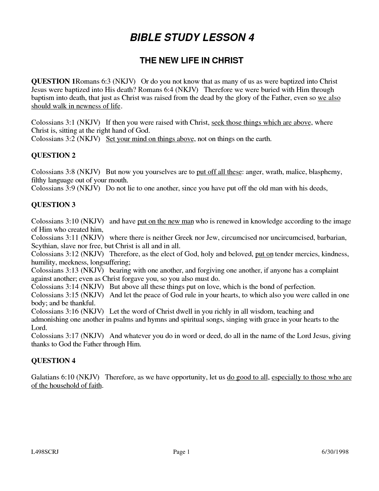√ 6 Best Images Of Printable Youth Bible Worksheets - Free Printable Bible Lessons For Women